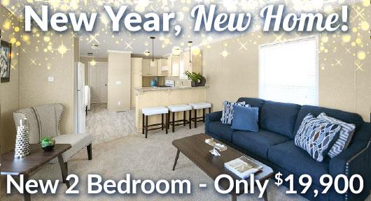 new 2-bedroom 19,900